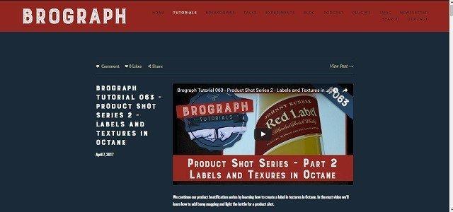 Top 12 Free Motion Graphics Tutorial Websites brograph 2