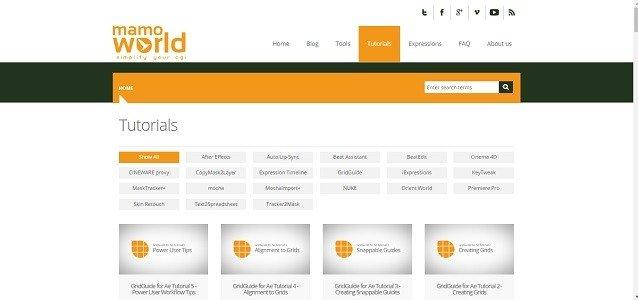 Top 12 Free Motion Graphics Tutorial Websites mamoworld 2