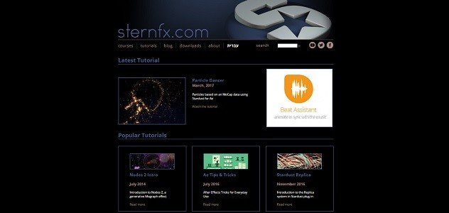 Top 12 Free Motion Graphics Tutorial Websites sternfx 1