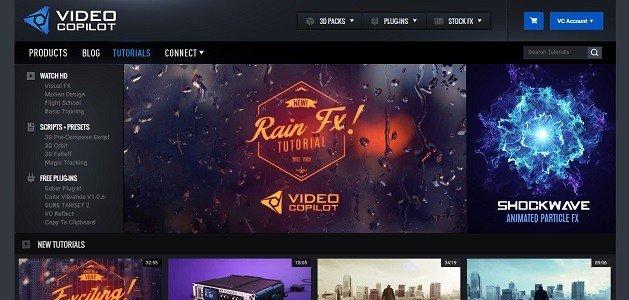 Top 12 Free Motion Graphics Tutorial Websites videocopilot 3